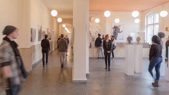 Das Foyer der BEST-Sabel Designschule Berlin